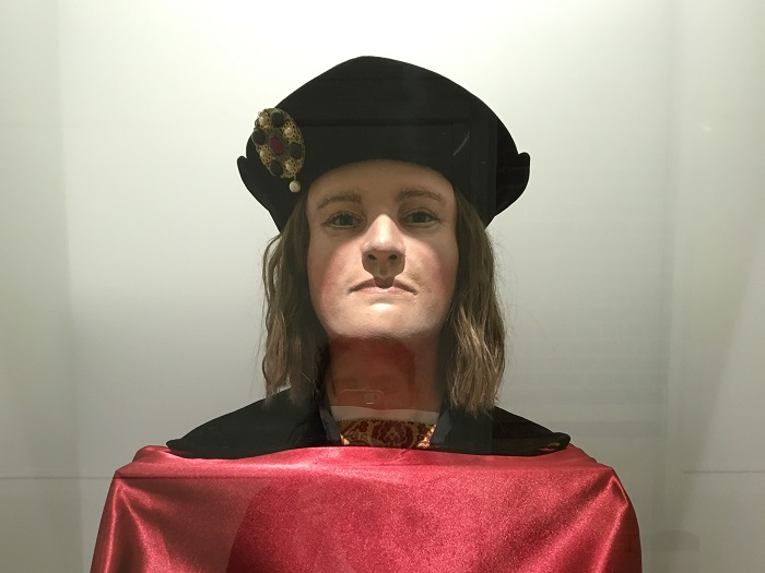 Leicester Richard III Visitor Center, Richard III Bust