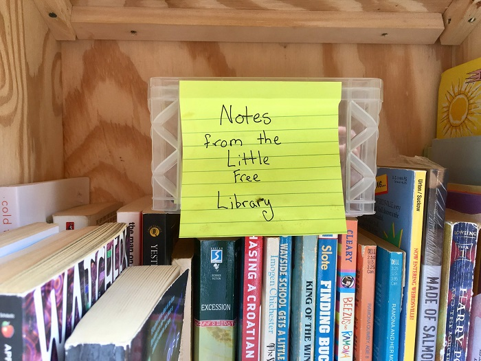 Little Free Library Notes