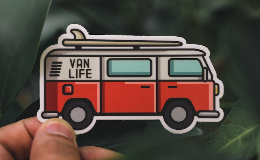 #VanLife Sticker